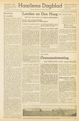 Haarlem's Dagblad 1945-12-29