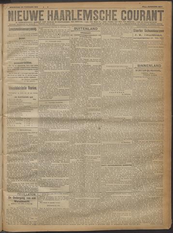 Nieuwe Haarlemsche Courant 1919-02-26