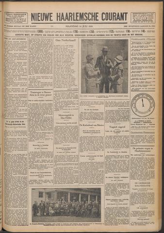 Nieuwe Haarlemsche Courant 1930-07-14