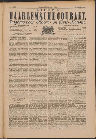 Nieuwe Haarlemsche Courant 1899-09-29