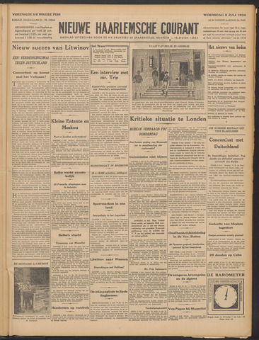 Nieuwe Haarlemsche Courant 1933-07-05