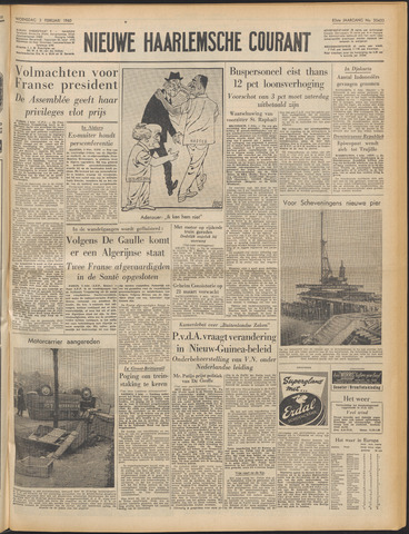 Nieuwe Haarlemsche Courant 1960-02-03