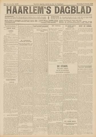 Haarlem's Dagblad 1926-10-13