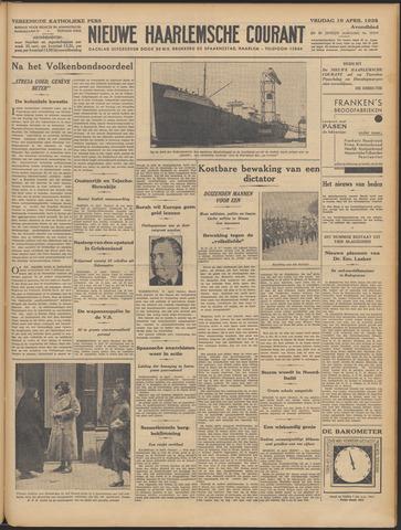 Nieuwe Haarlemsche Courant 1935-04-19