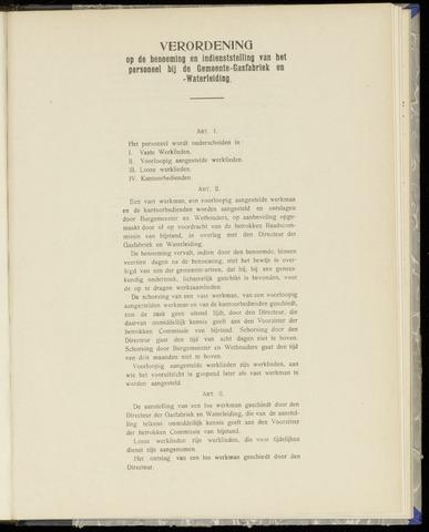 Raadsnotulen Heemstede 1908-12-17