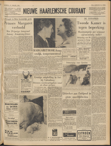 Nieuwe Haarlemsche Courant 1960-02-27