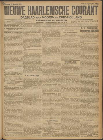 Nieuwe Haarlemsche Courant 1916-10-17