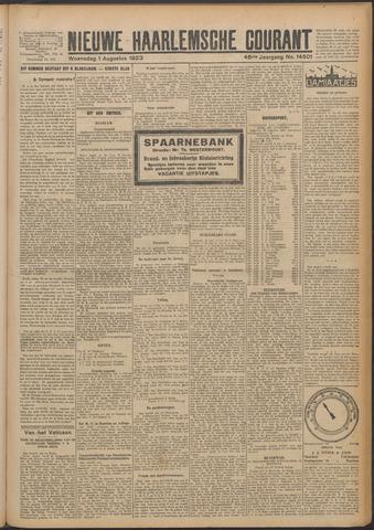 Nieuwe Haarlemsche Courant 1923-08-01