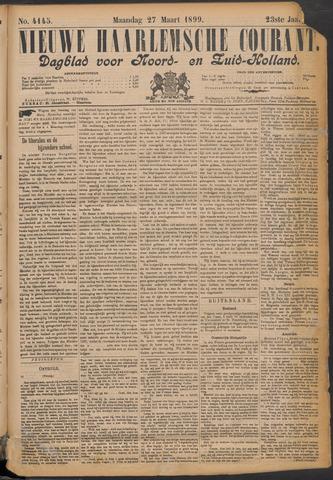 Nieuwe Haarlemsche Courant 1899-03-27