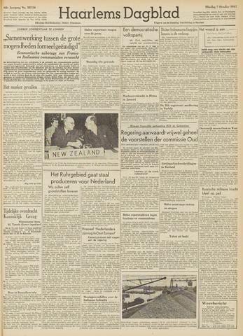 Haarlem's Dagblad 1947-10-07