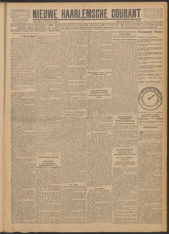Nieuwe Haarlemsche Courant 1927-02-07