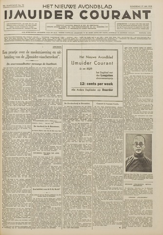 IJmuider Courant 1938-01-27