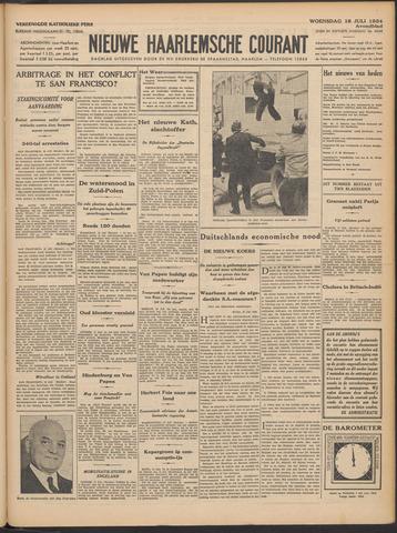 Nieuwe Haarlemsche Courant 1934-07-18