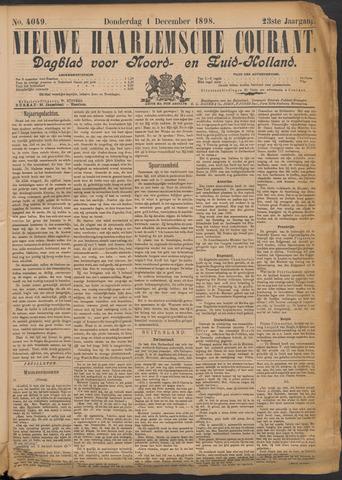 Nieuwe Haarlemsche Courant 1898-12-01