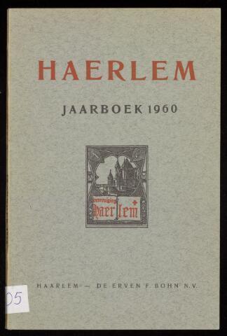 Jaarverslagen en Jaarboeken Vereniging Haerlem 1960