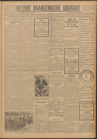 Nieuwe Haarlemsche Courant 1927-06-29