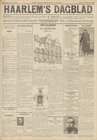 Haarlem's Dagblad 1926-02-06