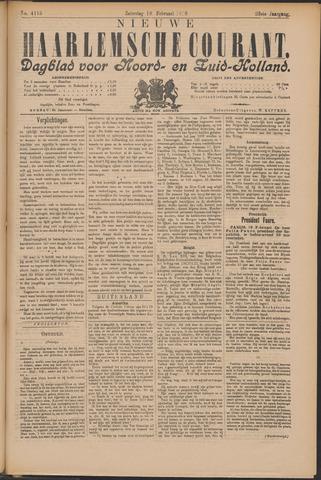 Nieuwe Haarlemsche Courant 1899-02-18