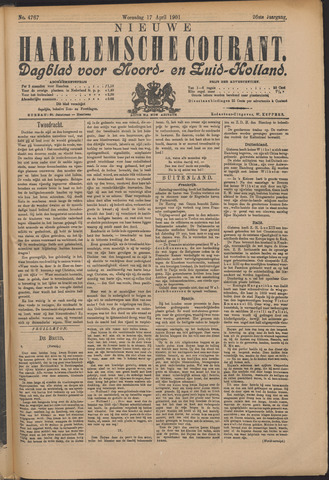 Nieuwe Haarlemsche Courant 1901-04-17