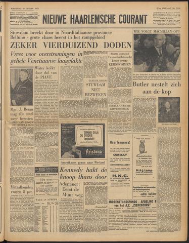 Nieuwe Haarlemsche Courant 1963-10-10