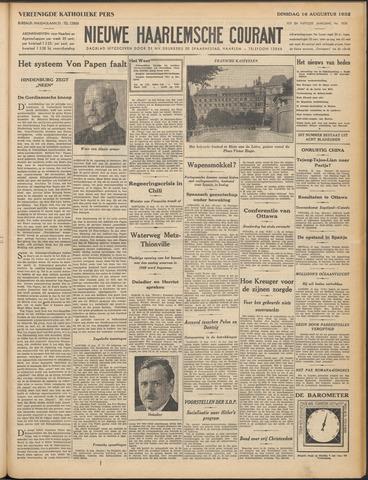 Nieuwe Haarlemsche Courant 1932-08-16