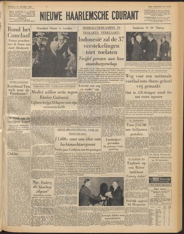 Nieuwe Haarlemsche Courant 1958-10-21