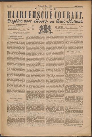 Nieuwe Haarlemsche Courant 1898-03-04