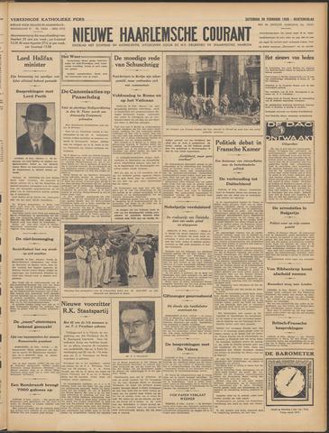 Nieuwe Haarlemsche Courant 1938-02-26