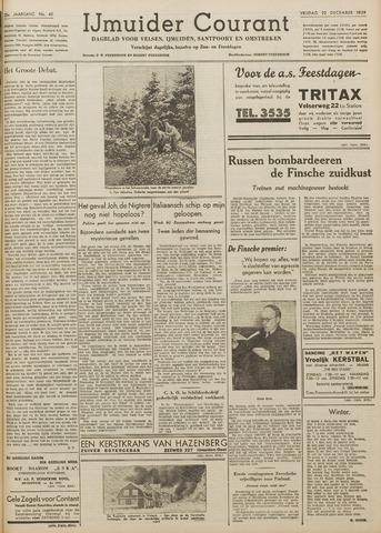 IJmuider Courant 1939-12-22