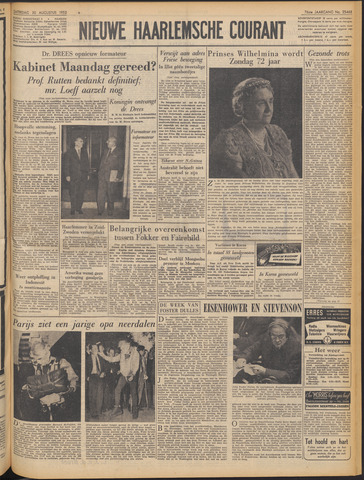 Nieuwe Haarlemsche Courant 1952-08-30