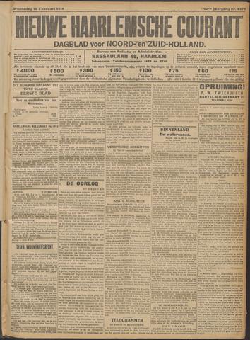Nieuwe Haarlemsche Courant 1916-02-16