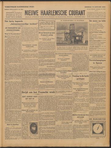 Nieuwe Haarlemsche Courant 1933-01-10