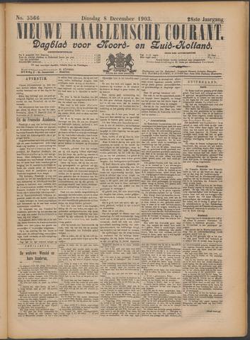 Nieuwe Haarlemsche Courant 1903-12-08