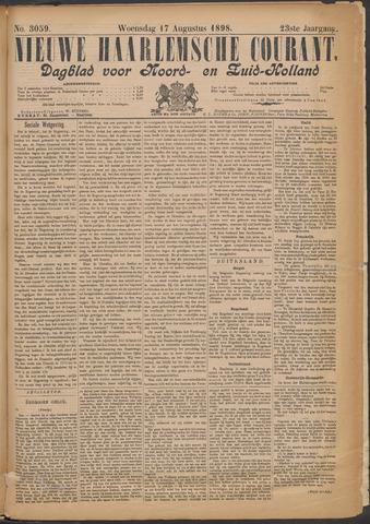 Nieuwe Haarlemsche Courant 1898-08-17