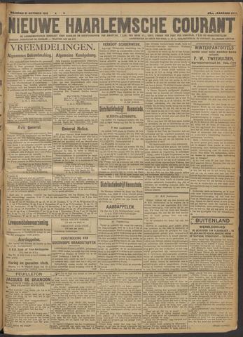 Nieuwe Haarlemsche Courant 1918-10-21