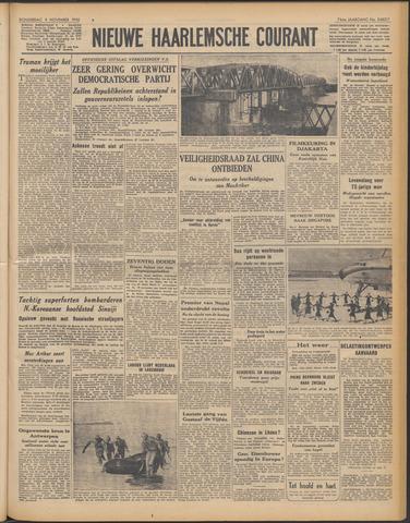 Nieuwe Haarlemsche Courant 1950-11-09