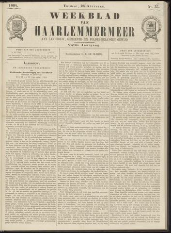 Weekblad van Haarlemmermeer 1864-08-26