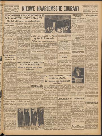 Nieuwe Haarlemsche Courant 1949-02-16