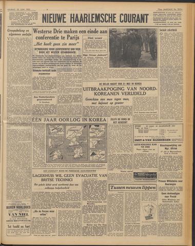 Nieuwe Haarlemsche Courant 1951-06-22
