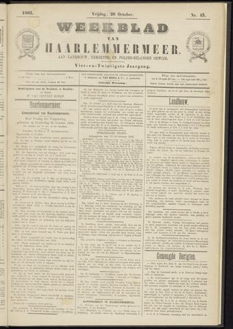Weekblad van Haarlemmermeer 1883-10-26