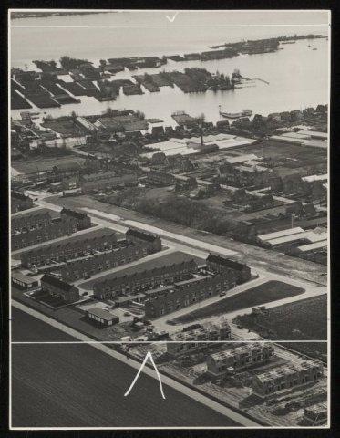 Luchtfoto van Rijsenhout.
