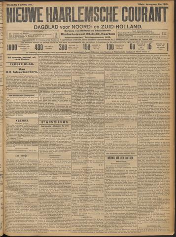 Nieuwe Haarlemsche Courant 1911-04-07