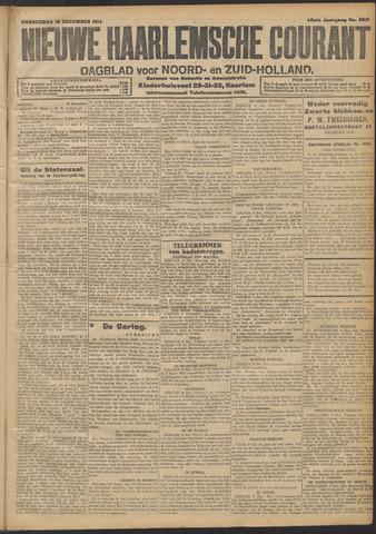 Nieuwe Haarlemsche Courant 1914-12-10