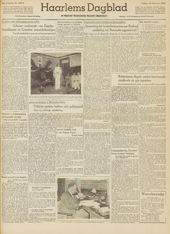 Haarlem's Dagblad 1950-02-10