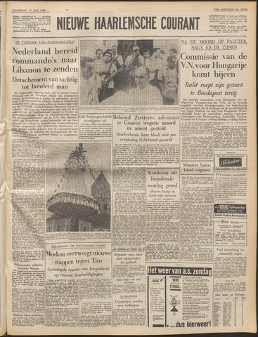 Nieuwe Haarlemsche Courant 1958-06-19
