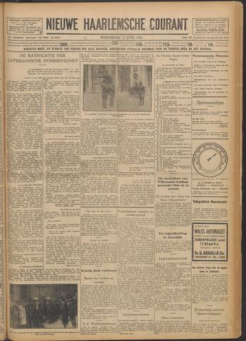 Nieuwe Haarlemsche Courant 1929-06-12