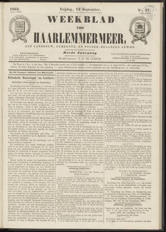 Weekblad van Haarlemmermeer 1862-09-12