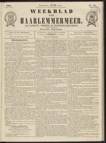 Weekblad van Haarlemmermeer 1868-03-13