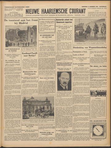 Nieuwe Haarlemsche Courant 1936-11-12