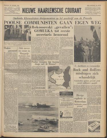 Nieuwe Haarlemsche Courant 1956-10-22